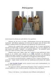 Prêt-à-porter - AUGE - Associazione Ufficiali Giudiziari in Europa