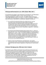 Hintergrundinformationen zum JVEG. Mehr ... cms/docs ... - VVU BW