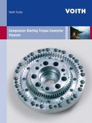 Compressor Starting Torque Converter Vosycon - Voith Turbo