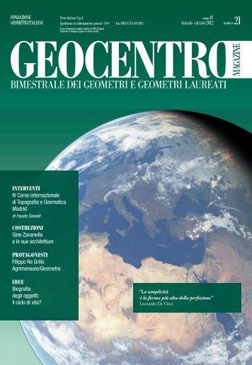GEOCENTRO/magazine - Fondazione Geometri