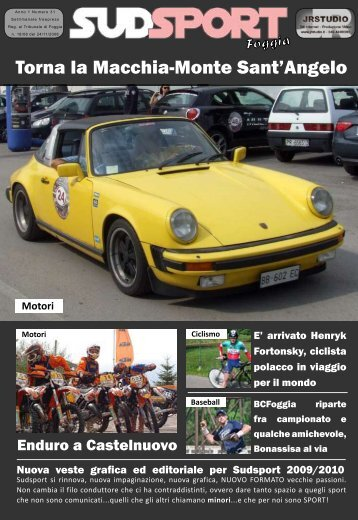 Anno 1 Numero 31 - Sudsport.it