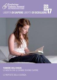 libertàdi saperelibertàdi scegliere - Fondazione Umberto Veronesi
