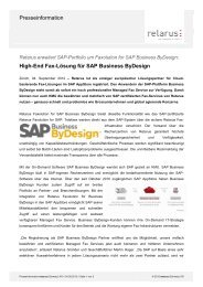 High-End Fax-Lösung für SAP Business ByDesign - Jenni ...