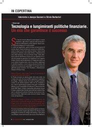 Tecnologia e lungimiranti politiche finanziarie. Un ... - Gruppo CDM