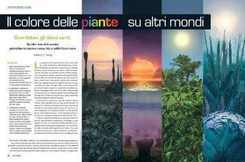 Il colore delle piante su altri mondi Scordatevi gli alieni ... - Kataweb