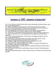 Sommario n°727 - domenica 13 giugno 2010 - Arcipelago Adriatico