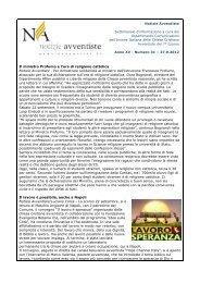 scarica pdf - Avventisti del Settimo Giorno