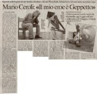 C'era una volta un pezzo di legno. Mario Ceroli ... - Galleria Ca' D'oro