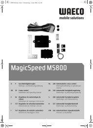 MagicSpeed MS800 - Waeco