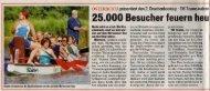 25.000 Besucher feuern heu - Walter Junger & Friends