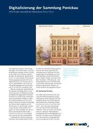 Digitalisierung der Sammlung Ponickau - Walter Nagel GmbH & Co ...