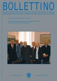 Maggio 2003 (pdf - 790 KB) - Ordine Provinciale dei Medici ...