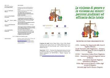 Brochure - Associazione Nazionale Magistrati