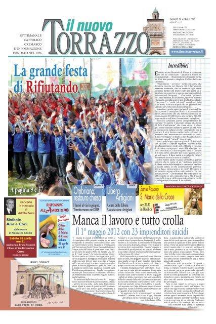 La Rosa Nel Vento Di Fabrizio Campanelli.Edizione Del 28 04 2012 Il Nuovo Torrazzo