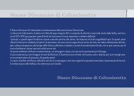 Museo Diocesano di Caltanissetta - Diocesi di Caltanissetta
