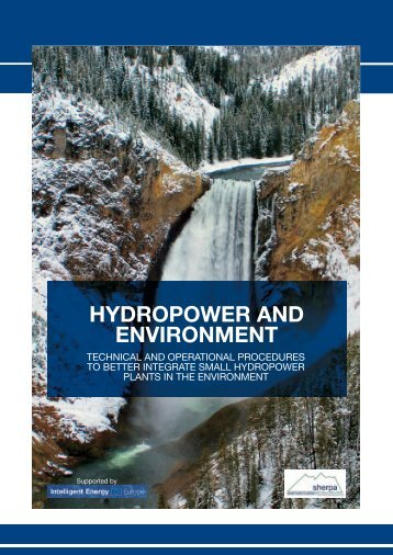 HYDROPOWER AND ENVIRONMENT - ESHA