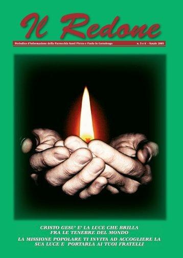 Redone n. 5-6 anno 2005 - Parrocchia GOTTOLENGO