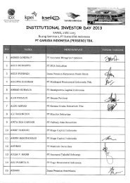 INSTUTIONAL INVESTOR DAY 2013 - IDX
