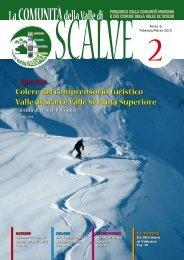 Anno 6 - Febbraio - Marzo 2010 - Comunità Montana di Scalve