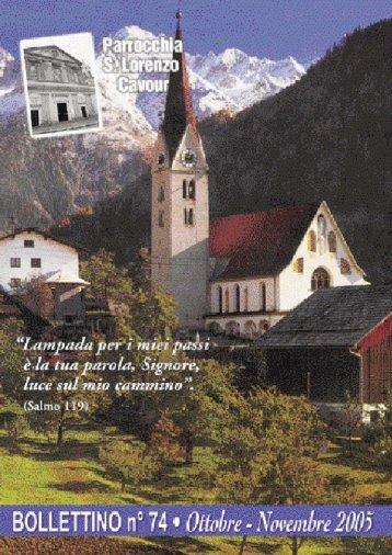 Bollettino Parrocchiale n. 74 - Cavour