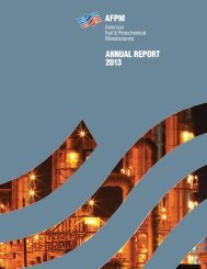 AFPM 2013 Annual Report