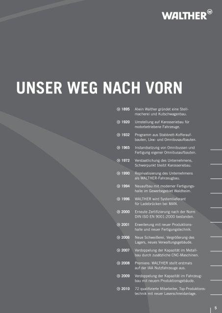 FAHRZEUGBAU - WALTHER Nutzfahrzeugbau GmbH