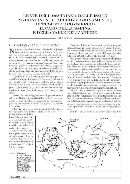 Metodi per la datazione e linterpretazione degli artefatti