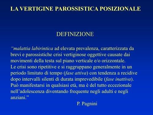 parossistica