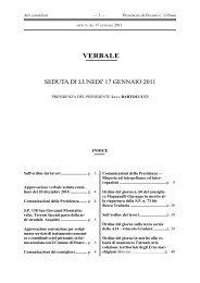 17 gennaio 2011. - Provincia di Pesaro e Urbino