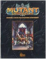 Enciclopedia Mutant Chronicles Tomo 1 (contiene i fascicoli da 1 a ...
