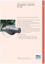 Schmiedestahl ? beschichtet FSC -280 - WALZEN IRLE GmbH