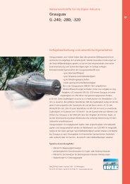 Grauguss G -240; -280; -320 - WALZEN IRLE GmbH