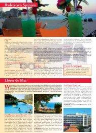 Badereisen Spanien Lloret de Mar - WALZ Reisen