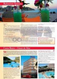 Badereisen Spanien Costa Brava – Lloret de Mar - WALZ Reisen