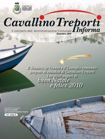 notiziario dicembre 2009 - Comune di Cavallino Treporti