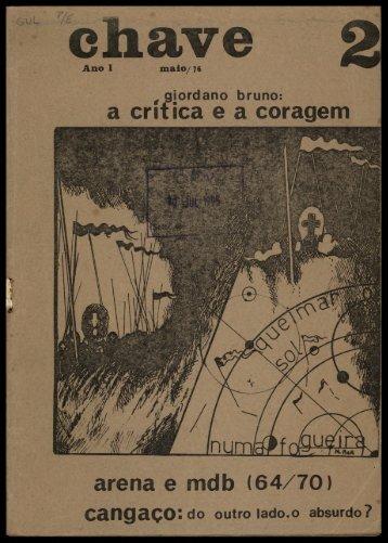 a critica e a coragem arena e mdb (64/70) - cpvsp.org.br