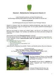 Hessisch - Waldeckisc Waldeckischer Gebirgsverein Kassel e.V. ...
