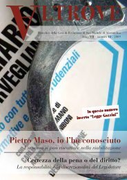 Pietro Maso, io l'ho conosciuto - Ristretti.it
