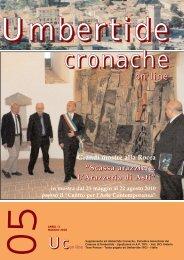 Umberitde Cronache on line n.5 anno 2010 - Comune di Umbertide