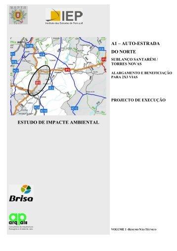 a1 – auto-estrada do norte estudo de impacte ambiental