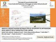analisi e progettazione botanica per gli interventi di ... - catap