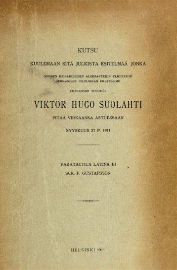 VIKTOR HUGO SUOLARTI