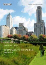 Construction Facade Sustainability (PDF | 3.1 MB) - Wacker Chemie