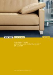 SIPELL® - A Silicone Finish - Wacker Chemie