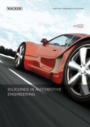 Silicones in Automotive Engineering (PDF | 1.7 MB) - Wacker Chemie