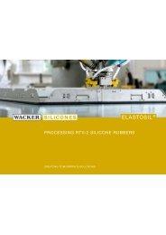 elastosil® - processing rtv-2 silicone rubbers - Wacker Chemie