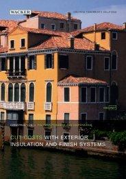 VINNAPAS Construction: Cut costs with exterior ... - Wacker Chemie