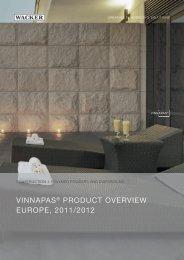 WACKER: VINNAPAS Product Overview Europe ... - Wacker Chemie