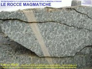 Le rocce magmatiche - Liceo Classico D'Azeglio