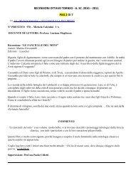 """1A – Michela Valentini – """"LE FANCIULLE DEL MITO"""""""